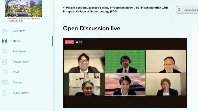 Digitaler Erfolg: 3. Internationales Gerodontologie Symposium